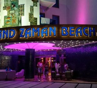 Eingang vom Hotel Hotel Grand Zaman Beach