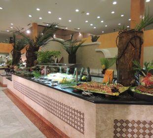 Traumhaften Buffet IBEROSTAR Hotel Bahia