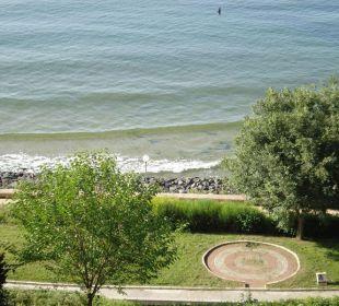 Ausblick vom Balkon Hotel Sol Marina Palace