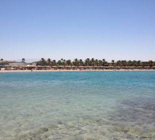 Hotel Strand von der Insel aus