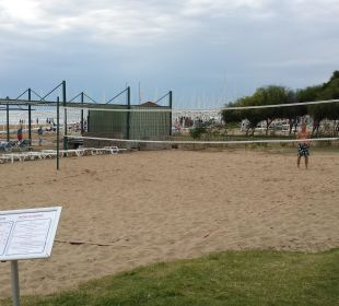 Volleyballplatz Hotel Oleander
