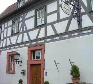 Rezeptionseingang Hotel Meisnerhof