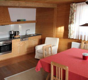 Offene, gut ausgestattete Wohnküche, Appt. 4 Landhaus Schloss Anras