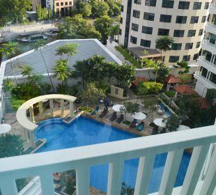 Pool Seite Park Hotel Clarke Quay