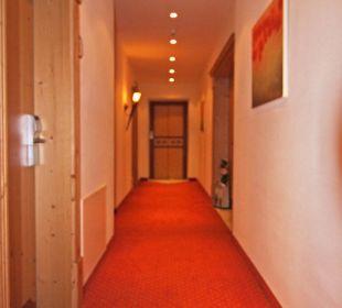 Hotelflur 3. Obergeschoss Familienhotel Loipenstub'n