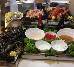 Fischabend. Hummer & Garnelen ! Sehr lecker IBEROSTAR Hotel Playa Gaviotas