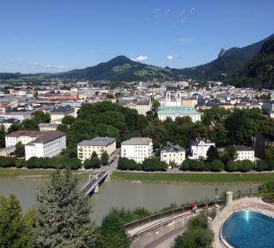Ausblick vom Hotelzimmer Hotel Schloss Mönchstein