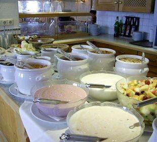 Frühstücksüberangebot Hotel Klausen