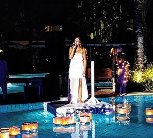 Sterne Dinner mit Show  Club Aldiana Zypern