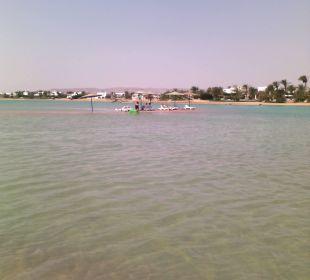 Insel unter Wasser
