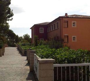 Weg zu den einzelnen Häusern Hotel Don Antonio