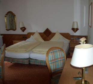 Schlafbereich Hotel Post