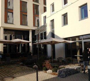 Außensitz Motel One Stuttgart