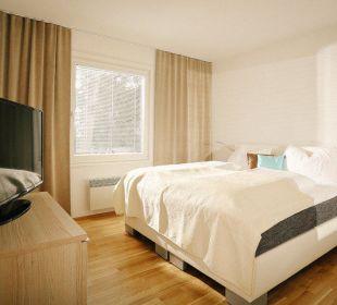 Eines der schönen drei Schlafzimmer Seevillen Excelsior