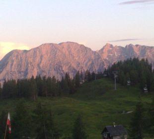 Ausblick vom Zimmer Hotel Alpenrose