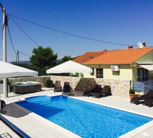Dach Pool Pension Villa Baroni