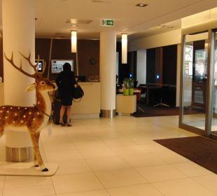 Rezeption Hotel Novotel Wien City