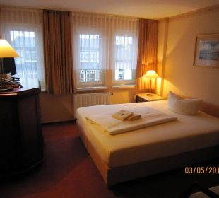 Doppelzimmer Kat.1 altGlowe Hotel Garni