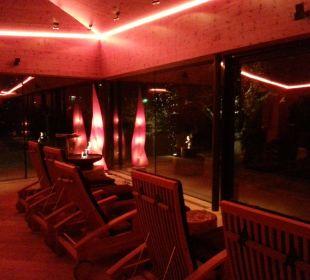 Einer der Ruheräume Hotel Krallerhof