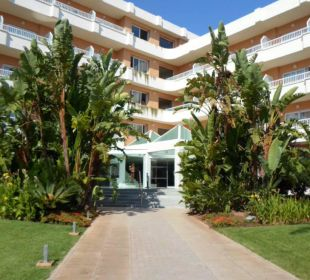 Hoteleingang Hotel JS Alcudi Mar