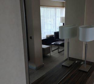 Wohnbereich Hilton Frankfurt City Centre