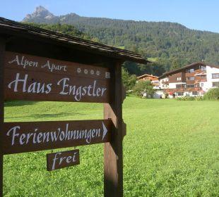 Schöner Panoramablick AlpenApart Haus Engstler