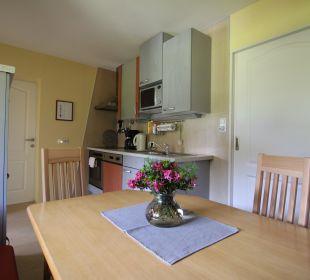 """Bestens ausgestattete Küche Ferienwohnung """"Erker"""" Apartment Familie Engl"""