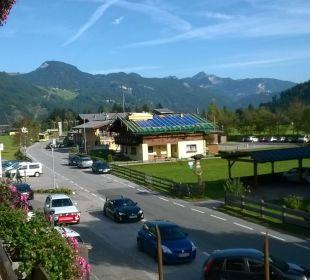 Hotel liegt an einer Seitenstrasse Ferienhotel Martinerhof