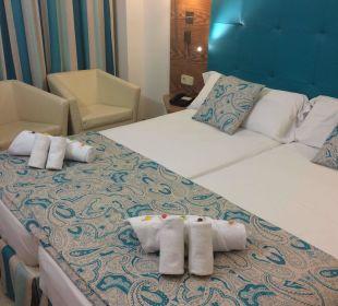 Zimmer am Ankunftstag Olimarotel Gran Camp de Mar