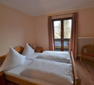 Schlafzimmer Osser Keilhofer Appartements Ferienwohnungen