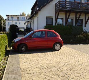 Parkplatz Gästehaus Linde