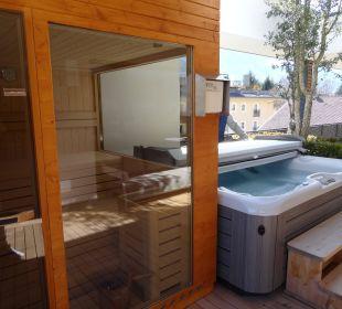 Am Balkon Sauna Whirlpool Hotel Feldhof