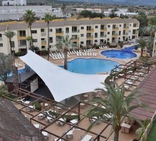 Poolanlage Hotel Viva Tropic