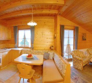 Auf Wunsch gerne mit Verpflegung möglich. Apartment Hotel Bio-Holzhaus Heimat