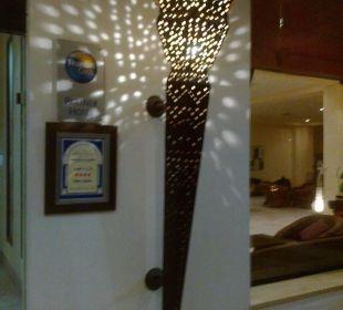Tolle lobby einrichtung Hotel Safira Palms