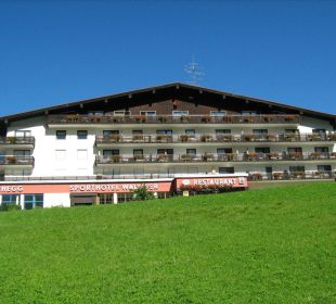 Hotel im Sommer Sporthotel Walliser