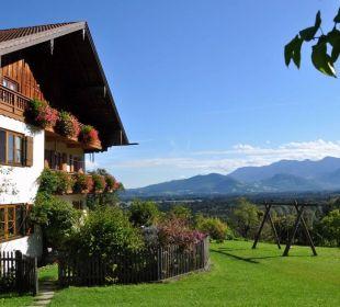 Hofbild mit Aussicht Oberulpointhof