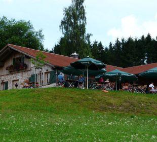 Hoteleigene Wanderhütte Hotel Müllers Löwen