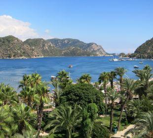 Blick vom Hotel zum Meer Hotel Aqua