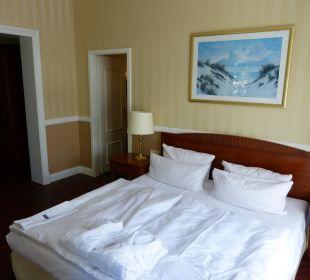 Schlafbereich Suite 251 Vier Jahreszeiten Kühlungsborn -  Hotel
