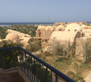 Blick vom Balkon Hotel Utopia Beach Club