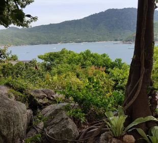 Ausblick vom Whirlpool Santhiya Koh Phangan Resort & Spa