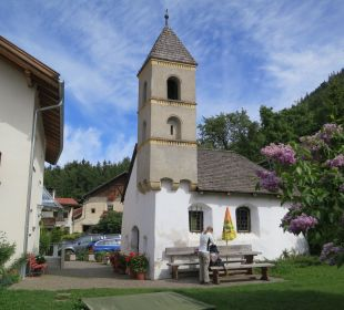 Mairhof mit Kapelle Pension Mairhof