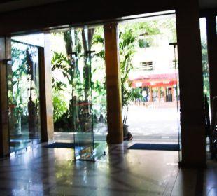 Вход Hotel Pattaya Garden