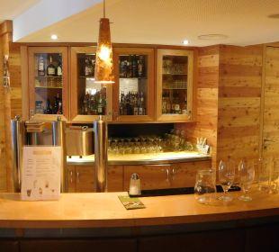 An der Bar Hotel Bon Alpina