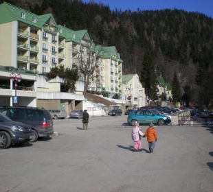 Hotelparkplatz Hotel Panhans