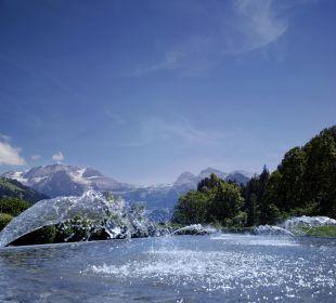 Aussenansicht Berge Lenkerhof gourmet spa resort