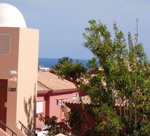 Seitenblick vom Balkon zum Meer Hotel Mirador Maspalomas Dunas