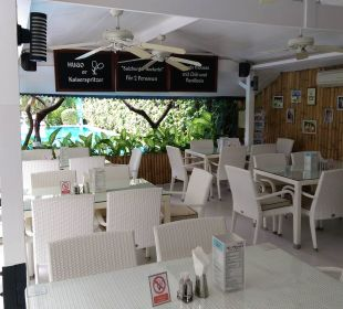 Restaurant und Rezeption K Hotel