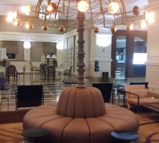 In der Lobby Hotel Delphin Diva Premiere